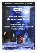Affiche concert OSB 27 novembre